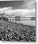 Penarth Pier 5 Metal Print