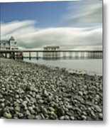 Penarth Pier 6 Metal Print