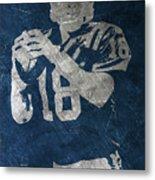 Peyton Manning Colts Metal Print