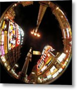 Piccadilly Circus In London Metal Print
