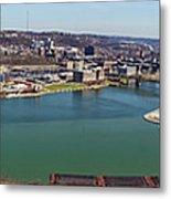 Pittsburgh Panorama Metal Print