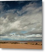 Point Of Ayre Lighthouse Metal Print