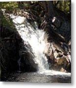 Poplar Stream Falls Metal Print