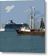 Port Canaveral In Florida Usa Metal Print