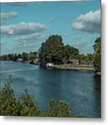 Port Charlotte From Edgewater Metal Print