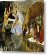 Portrait Of Mlle Fiocre In The Ballet  Metal Print