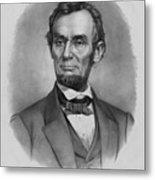President Lincoln Metal Print