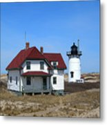 Race Point Lighthouse Metal Print