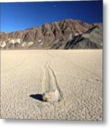 Racetrack In Death Valley National Park Metal Print