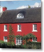 Red House In Northern Ireland Metal Print