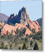 Red Rock Canyon Open Space Park Metal Print