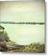 Reelfoot Lake Fishing Metal Print