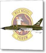 Republic F-105g Thunderchief 561tfs Metal Print