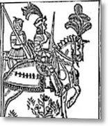 Richard I (1157-1199) Metal Print