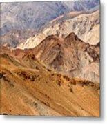Rocks And Stones Mountains Ladakh Landscape Leh Jammu Kashmir India Metal Print