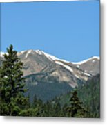 Rocky Mountains 2 Metal Print