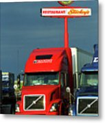 Route 66 - Dixie Truckers Home Metal Print