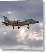 Royal Navy Sea Harrier Metal Print