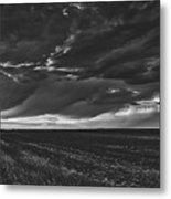 Rural Sunset Beauty Metal Print