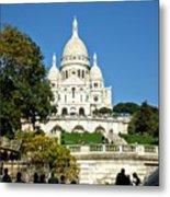Sacre-coeur /  Basilica Of The Sacred Heart Of Paris Metal Print