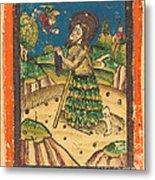 Saint Onuphrius Metal Print