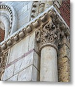 Saint Sernin Basilica Architectural Detail Metal Print