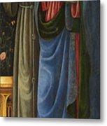 Saints Francis And Mark Metal Print
