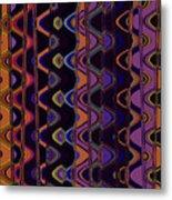 Sally's Shower Curtain Metal Print