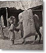 Samarkand: Transport, C1870 Metal Print
