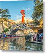 San Antonio River Walk Metal Print
