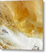 Sandy Wave Metal Print