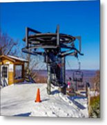 Scenery Around Timberline Ski Resort West Virginia Metal Print