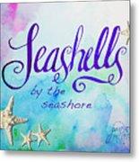 Seashells By Jan Marvin Metal Print