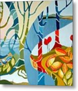 Seasons Of Creation Metal Print by Carola Ann-Margret Forsberg