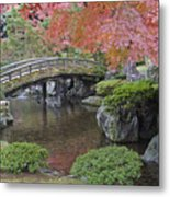 Sento Imperial Palace Gardens Lake Metal Print by Rob Tilley