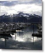 Seward Harbor Metal Print