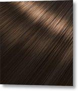 Shiny Brunette Hair  Metal Print