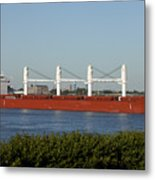 Shipping - New Orleans Louisiana Metal Print
