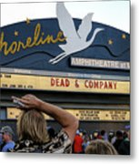 Shoreline Amphitheatre - Dead And Company Metal Print