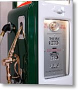 Sinclair Gas Pump Metal Print
