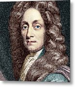 Sir Christopher Wren, Architect Metal Print