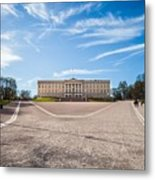 Slottet, The Royal Palace In Oslo, Norway Metal Print
