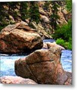 South Platte River Metal Print