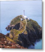 South Stack - Wales Metal Print