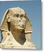 Sphinx At Gisa, Egypt Metal Print