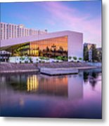 Spokane Washington City Skyline And Convention Center Metal Print