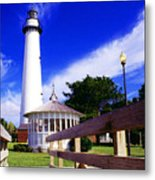 St Simons Island Lighthouse Metal Print