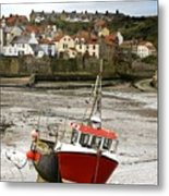 Staithes, North Yorkshire, England Metal Print