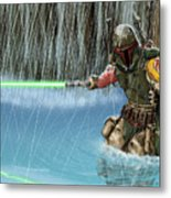 Star Wars Metal Print