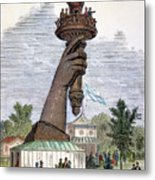 Statue Of Liberty, 1876 Metal Print